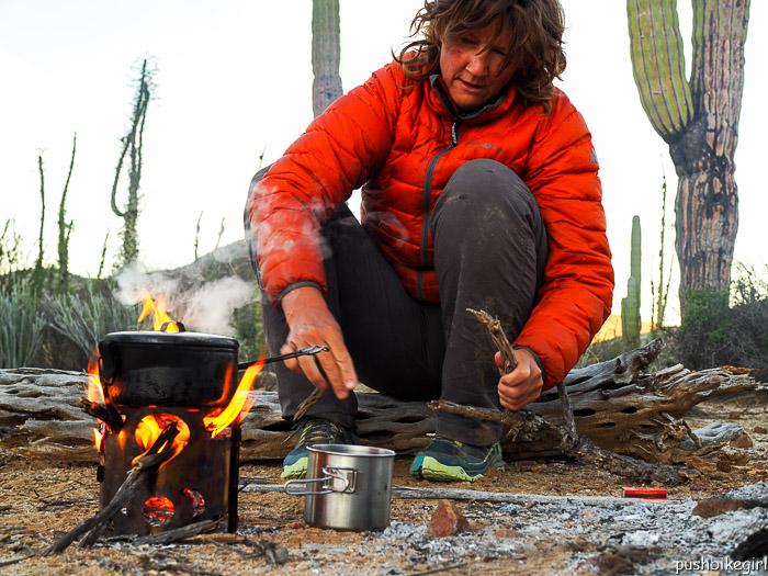 outdoor cooking Baja California